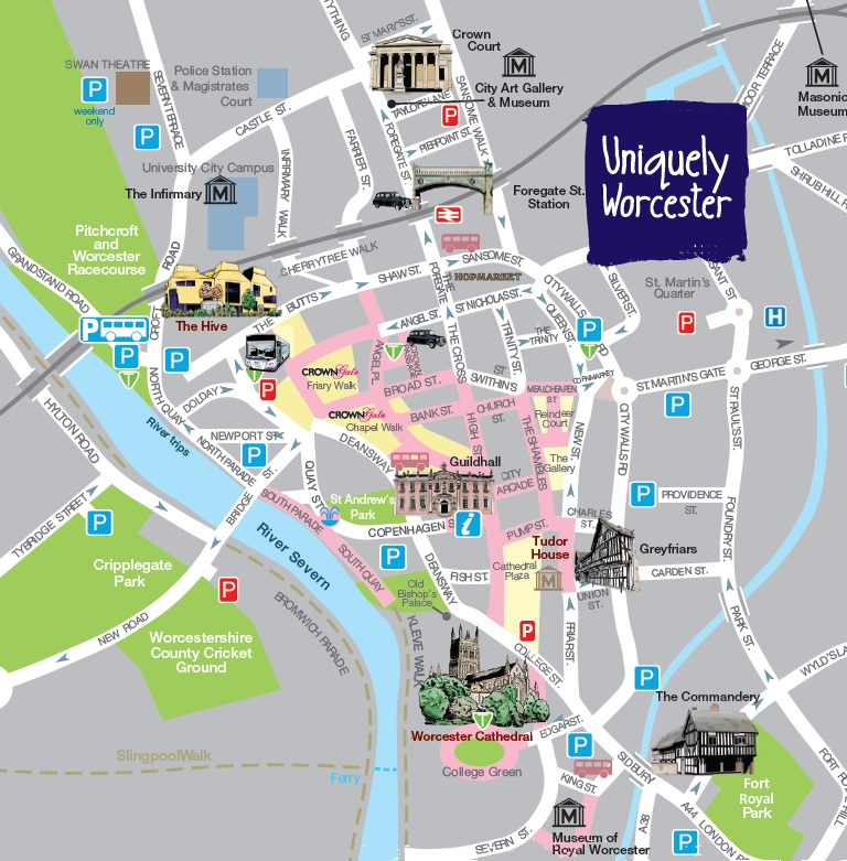 Uniquely Worcester 2015 Exclusive Offers Card Worcester